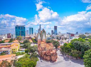Vietnam HCMC Notre Dame Sightseeing Tagesausflug
