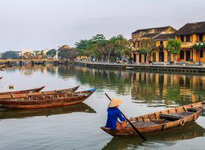 Vietnam Hoi An Kanal Rundreise