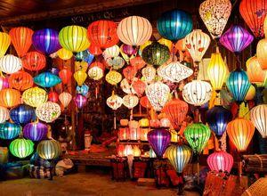 Vietnam Hoi An Lampions Deko Lichterkette Reiseprofi