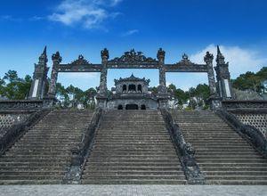 Vietnam Hue Khai Dinh Tomb Grabstaette