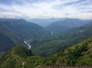 Kolumbien Chicamocha Canyon Landschaft