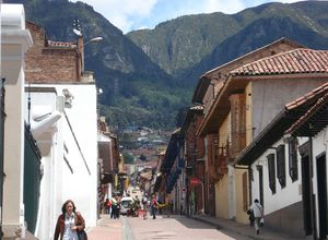 Kolumbien Choachi Stadt