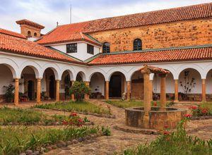 Kolumbien Villa de Leyva Kloster Ecce Homo iStock 519747565
