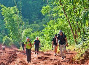 Myanmar Kalaw Wanderung