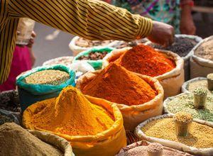 Indien Delhi Markt