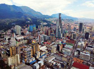 Kolumbien bogota capital