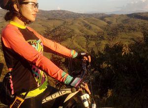 Kolumbien Bike Tour Mensch