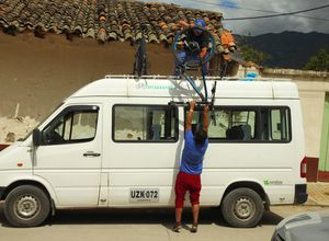 Kolumbien Bike Tour Van