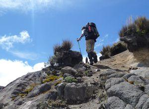 Kolumbien Los Nevados Aufstieg