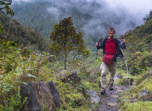 Kolumbien Los Nevados Menschen