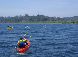 indien andamanen havelock kayak fahren