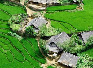 vietnam sapa bergdörfer