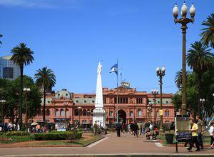 Argentinien Buenos Aires Gruppenreise Casa Rosada