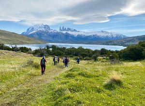 Chile Torres del Paine Gruppenreise Laguna Azul