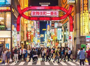 Reise Japan Tokio Stadtviertel Kabukicho iStock 990790360
