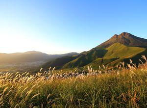 Japan Yufuin and Mt Yufu Wanderung
