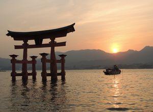 Japan - Miyajima Insel - Itsukushima-Schrein