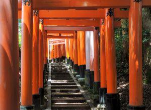 Japan Kyoto Fushimi Inari Taisha Schrein