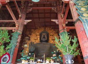 Japan Nara Todaiji Tempel Buddha