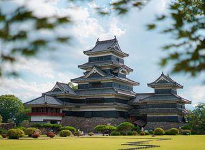 Japan Matsumoto Burg Papaya