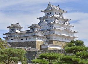 Japan Reise Himeji Burg Papaya