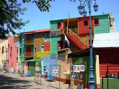 argentinien buenos aires boca panorama