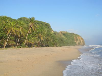 Kolumbien Karibik Palomino Strand