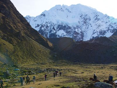 peru salkantay trail der weg zum bergpass