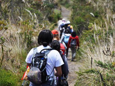ecuador cuicocha lagune trekking
