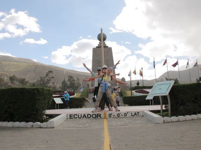 ecuador quito mitad del mundo 1