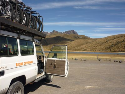 ecuador fahrradtouren begleitfahrzeug