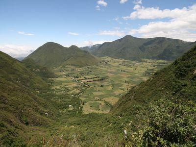 ecuador pululahua naturschutzgebiet
