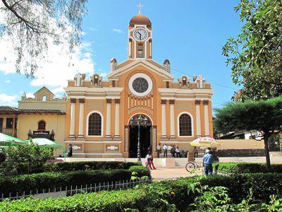 ecuador vilcabamba kirche