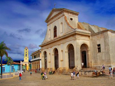 kuba trinidad hauptplatz