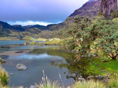 ecuador cajas nationalpark lagune P45EdkG