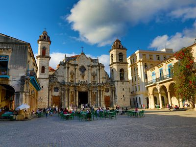 Kuba Havanna Altstadt Kathedrale