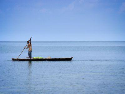Fischer auf den Islas del Rosario