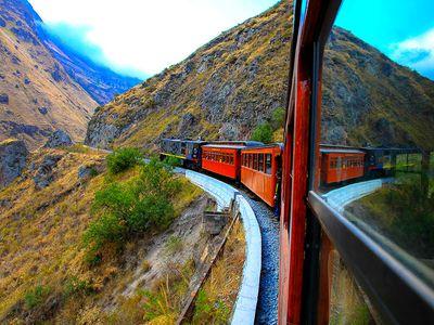 Bahnfahrt über die Teufelsnase, Ecuador