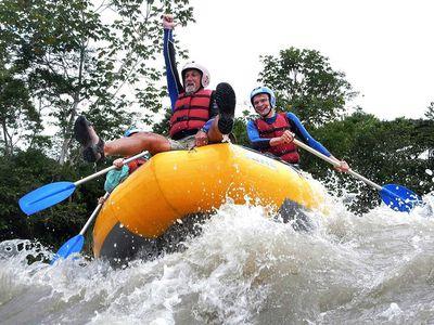 Rafting-Tour im Dschungel - Hakuna Matata Lodge Ecuador