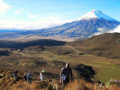 Ruminahui Vulkan im Cotopaxi Nationalpark, Ecuador
