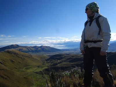 Gipfelbesteigung im Cotopaxi Nationalpark