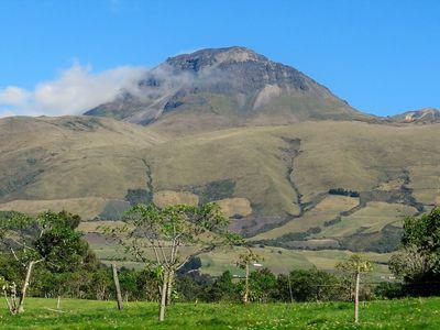 Corazón Vulkan in Ecuador