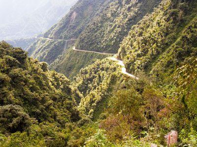 Bolivien Straße des Todes