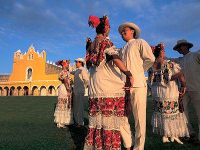 Mexiko Izamal