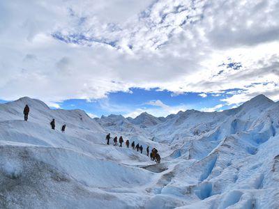 argentinien el calafate perito moreno ice trekking