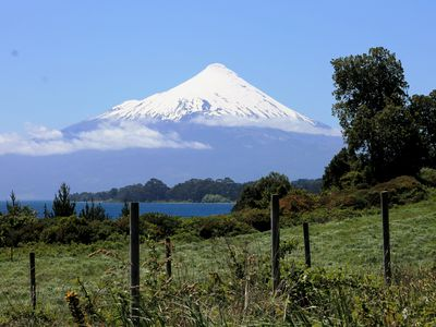 Chile Seengebiet Lago Llanquihue Fahrt zum Osorno