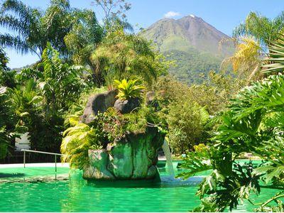 Costa Rica La Fortuna Vulkan Arenal Thermalquellen