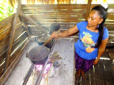 CostaRica Cahuita Menschen BriBri