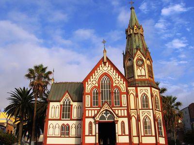 Chile Arica Kirche