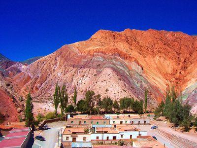 Argentinien Purmaraca Cerro de los siete colors